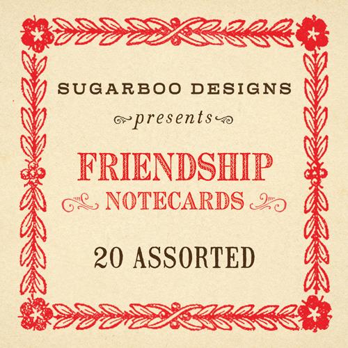 Friendship Notecard Set