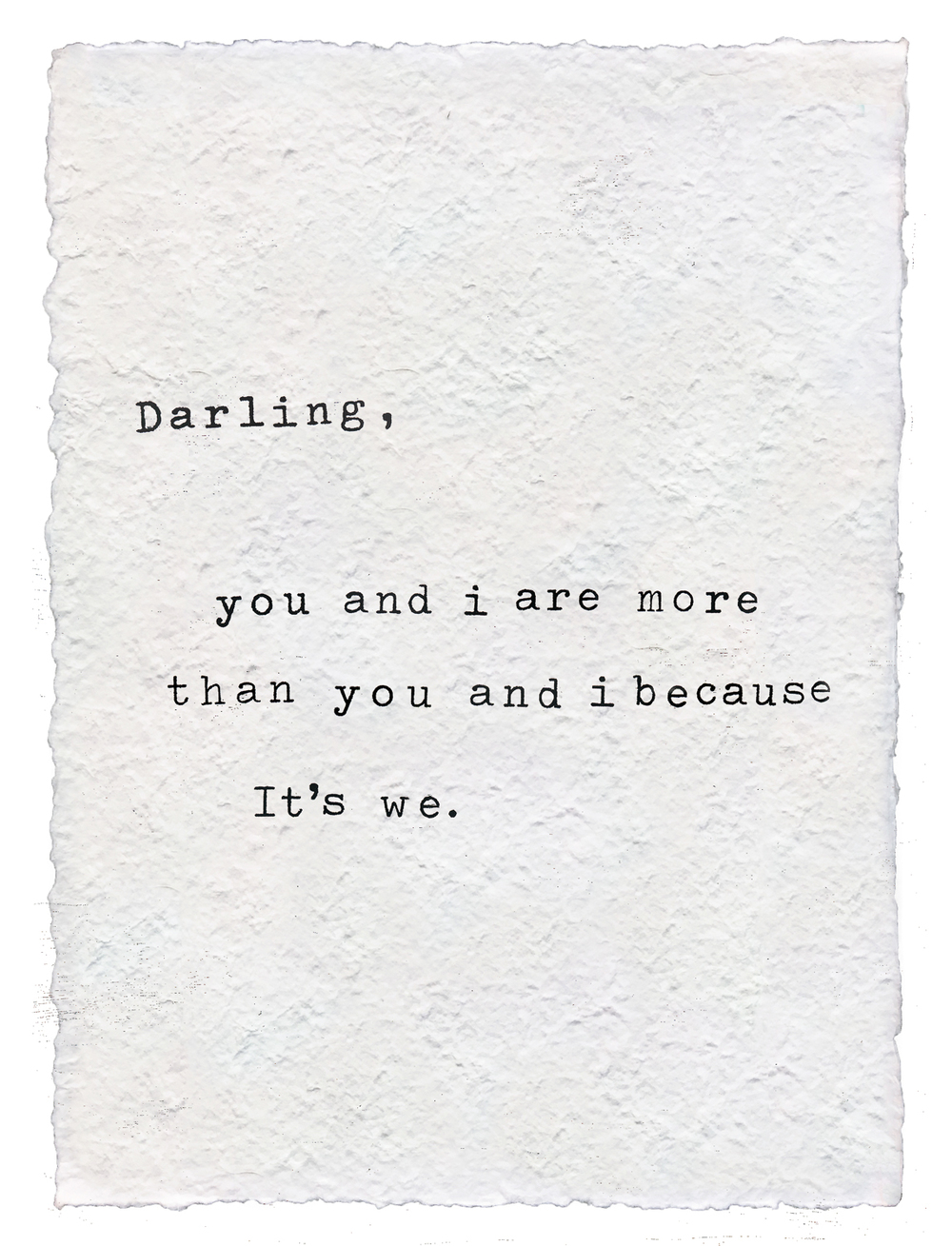 Darling You and I