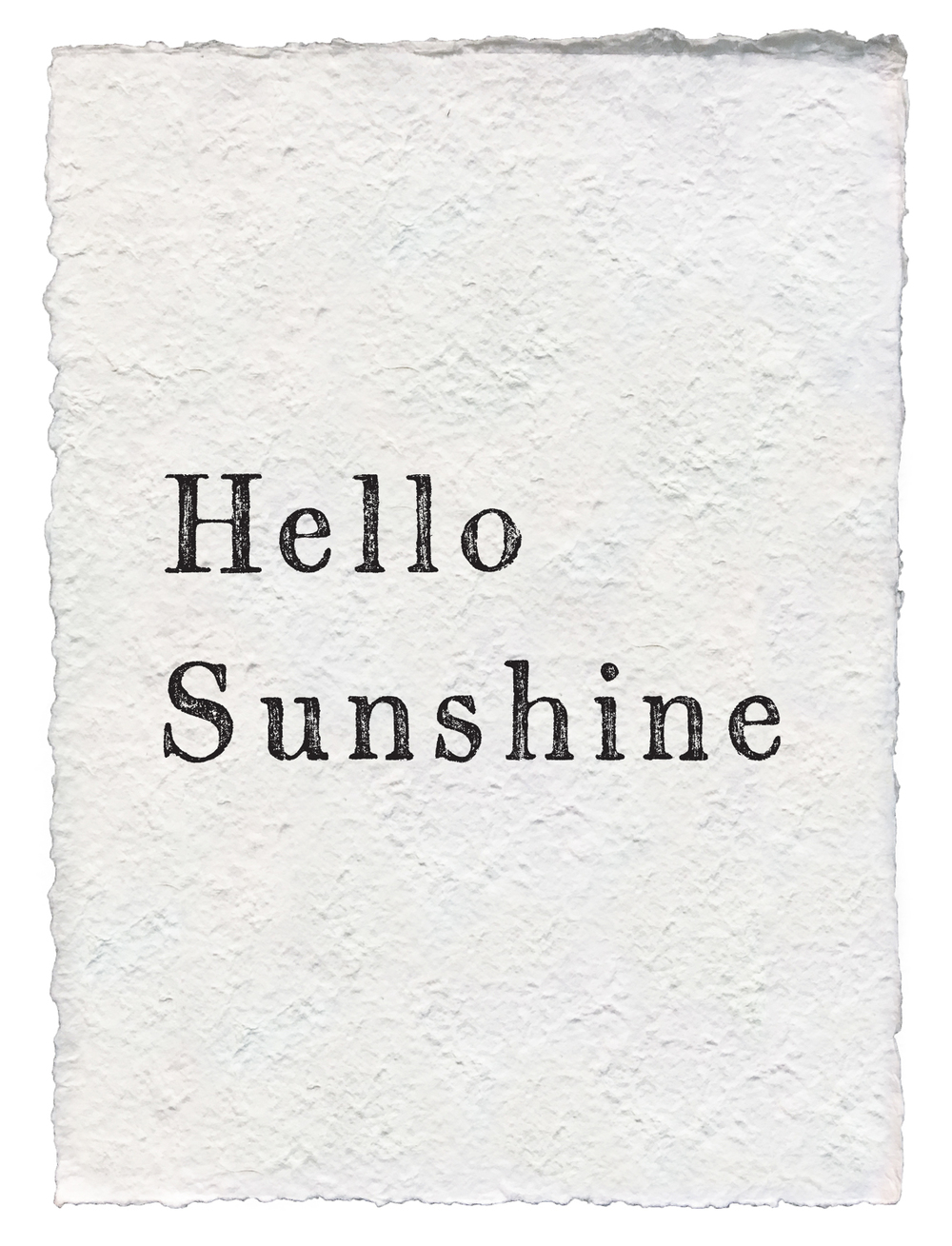 Hello Sunshine