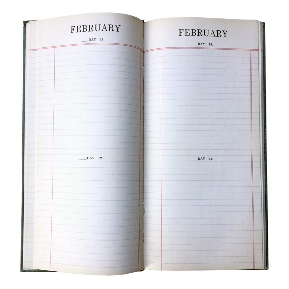 Agenda Book (inside)