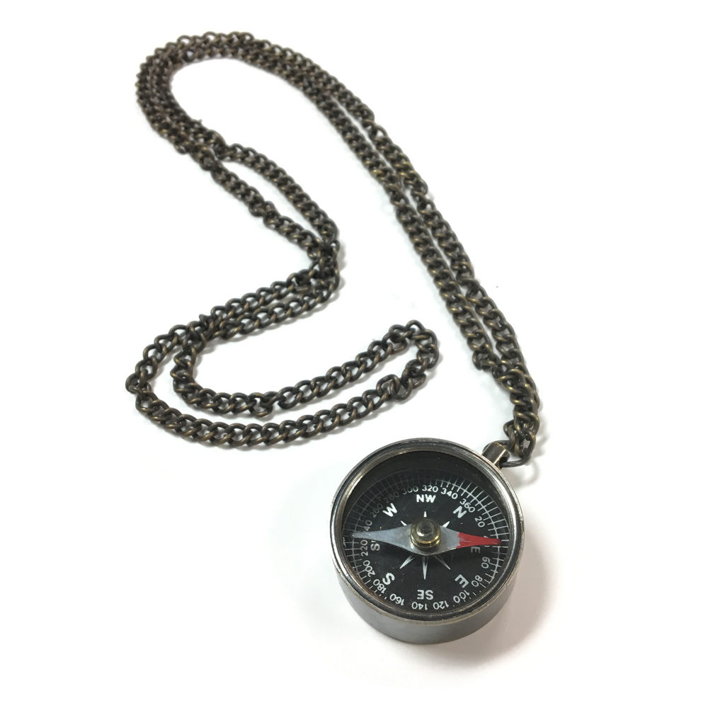 Compass - C.S. Lewis Necklace