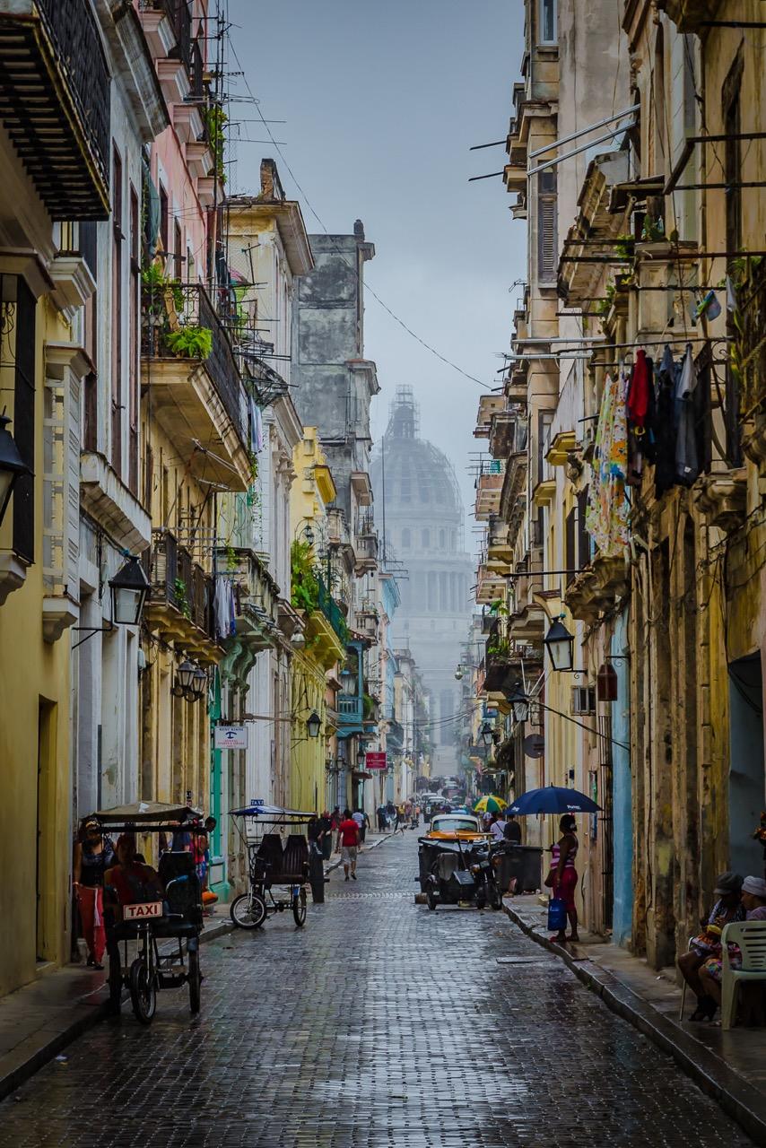 """""""Havana Rain"""", inkjet print, 24""""H x 18""""W"""