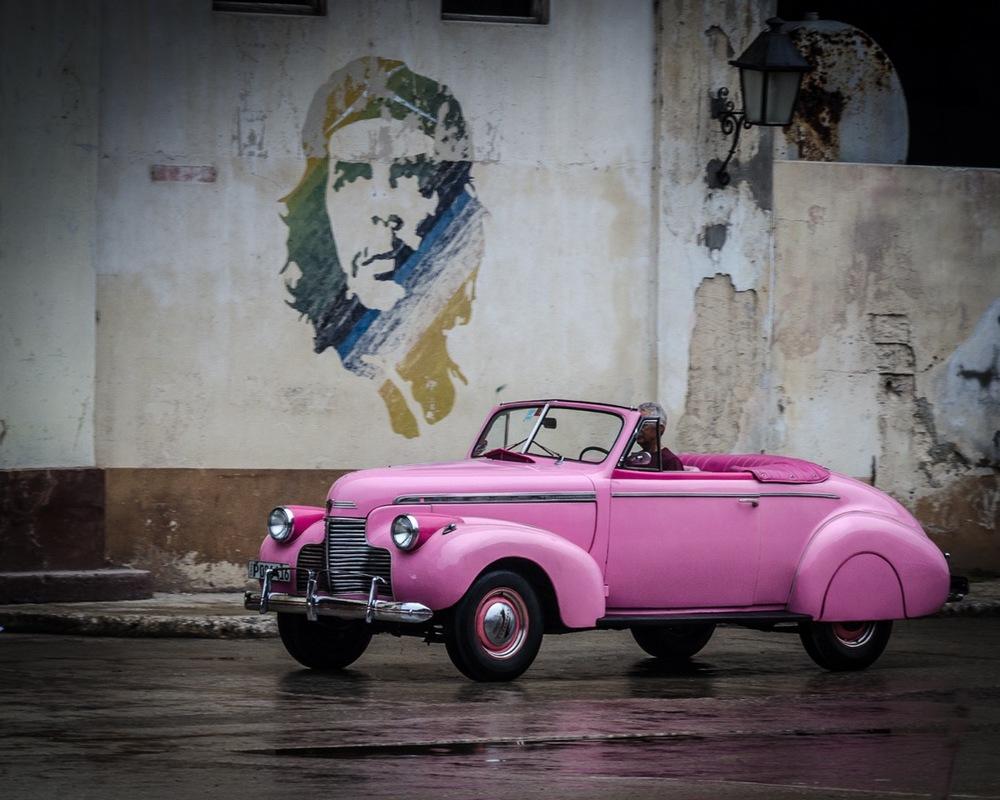 """Havana Car"", inkjet print, 16""H x 20""W"