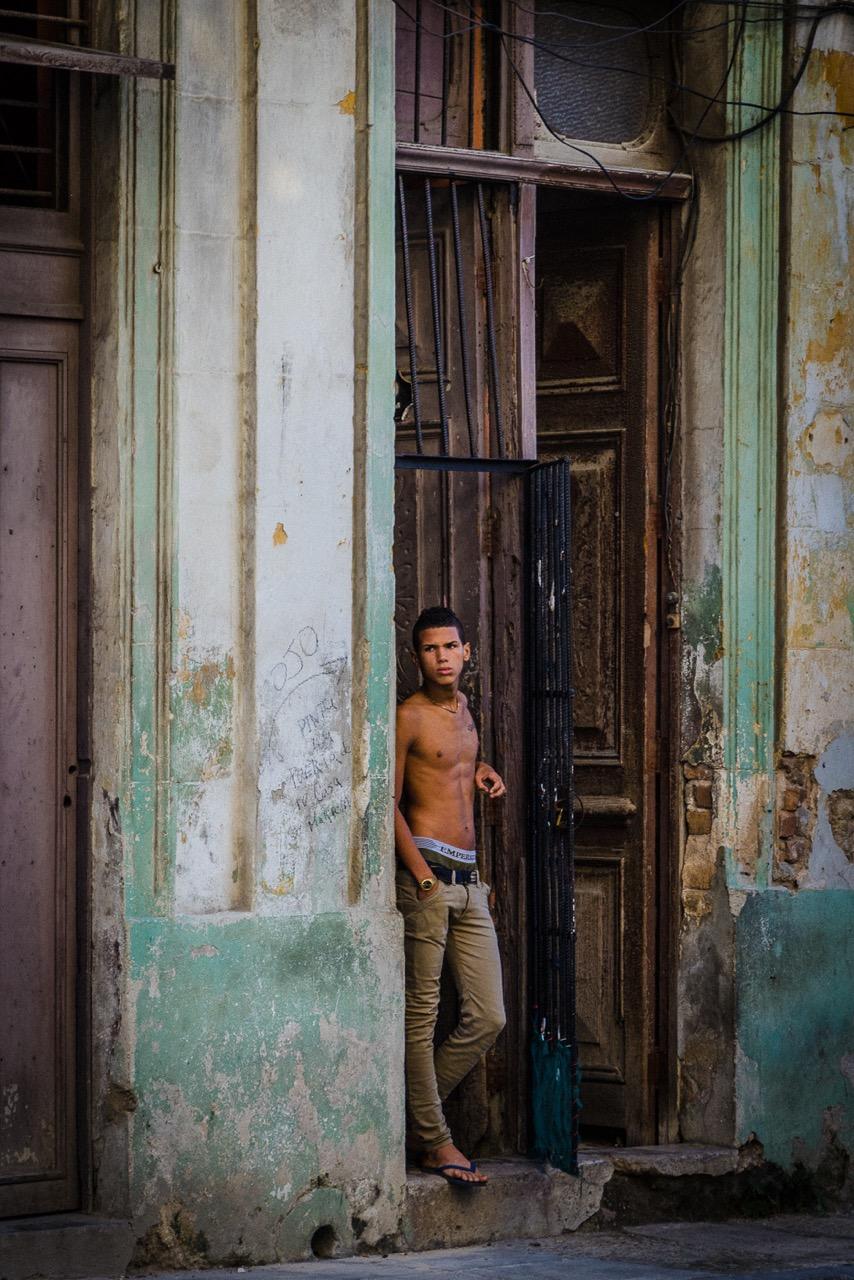 """""""Havana Doorway"""", inkjet print, 24""""H x 18""""W"""