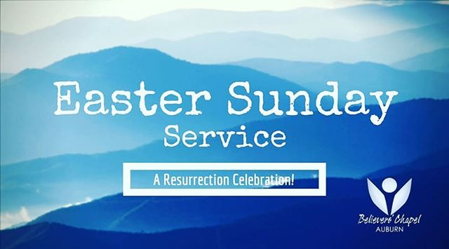 Come Join us this Sunday at 10:30am for our Easter Service!