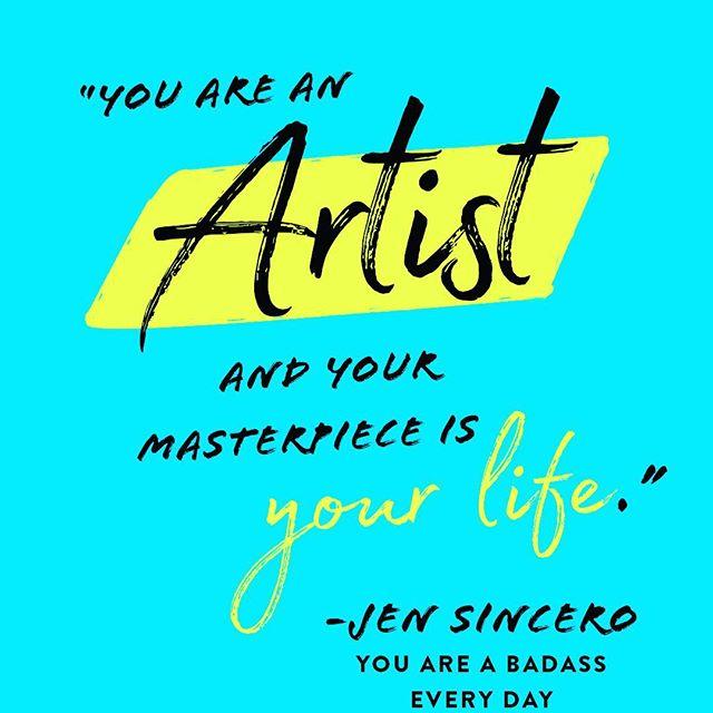 #youareabadass #riseandshine #therapy #artistlife