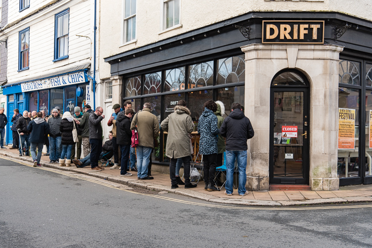 Record Store Day 2016 at The Drift Record Shop