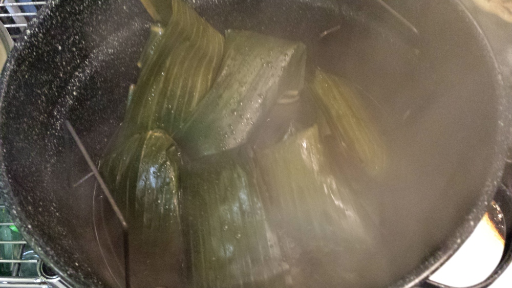 Freshly Steamed Tamales