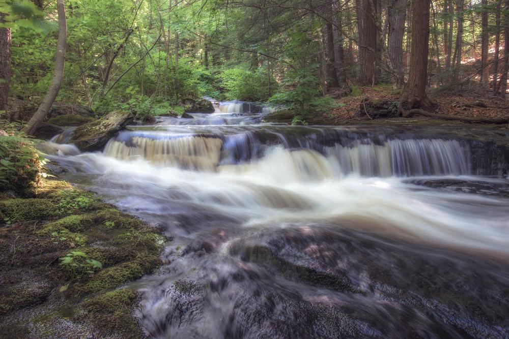 Pondshore Falls 2