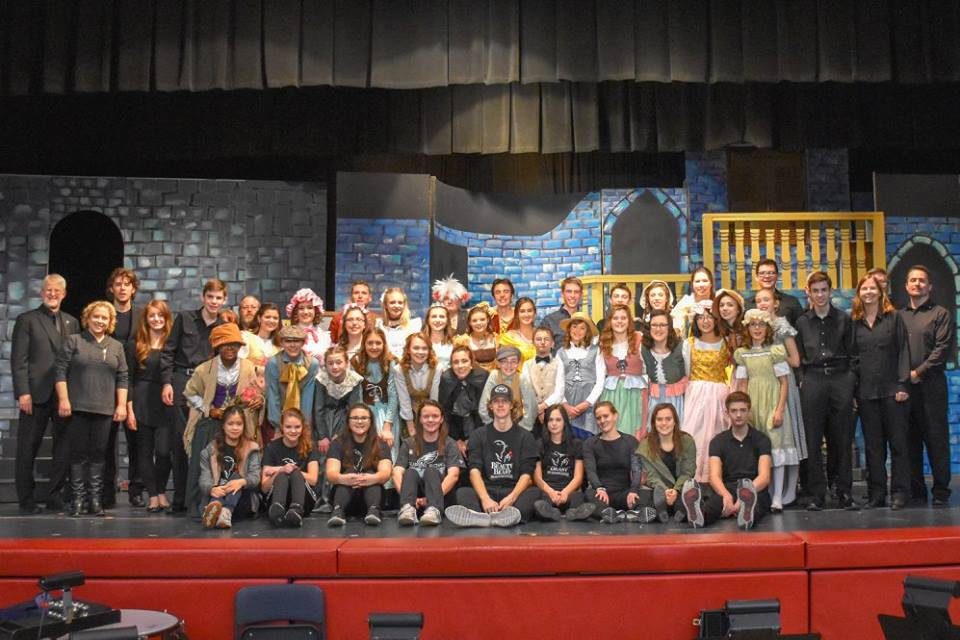 2018 Spring Musical Production of Beauty and the Beast