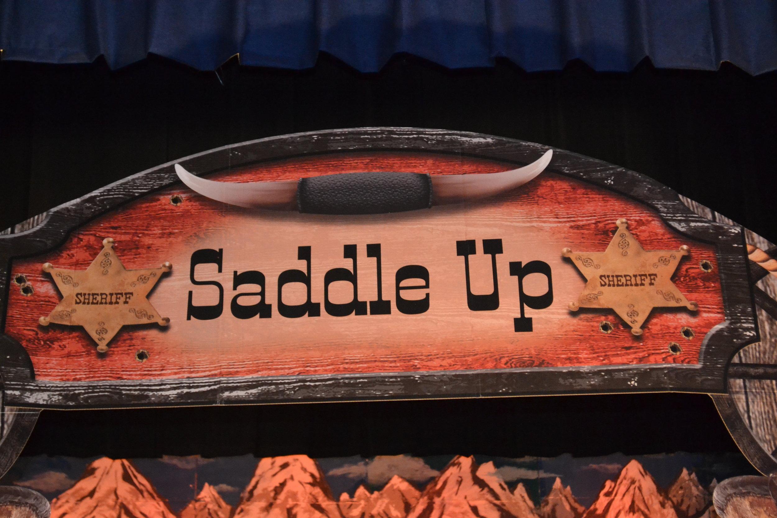 Saddle up two wild men bb