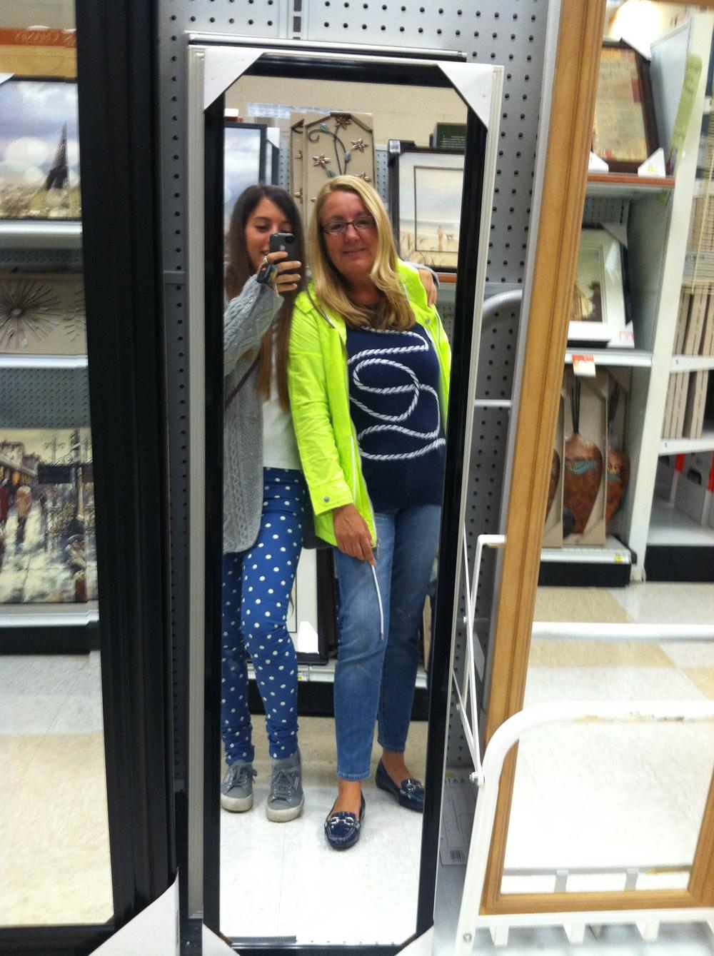 Selfie en Target