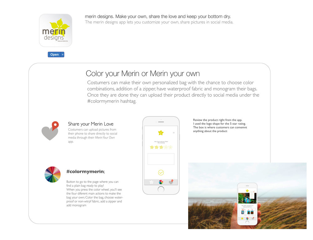 App Store mockup
