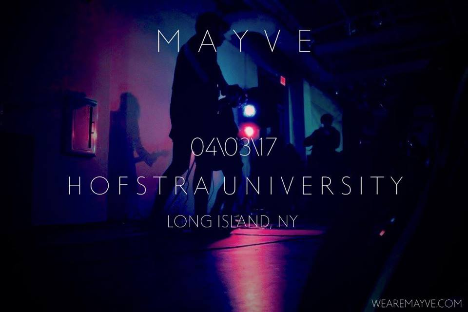 MAYVE gig poster