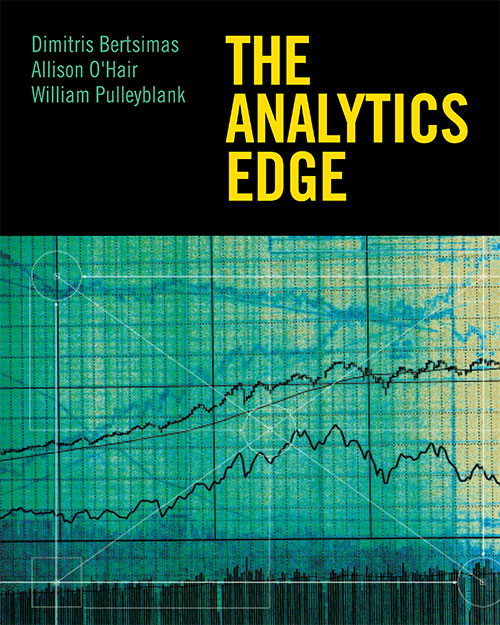The Analytics Edge Book Cover Art Direction: Ciano Design