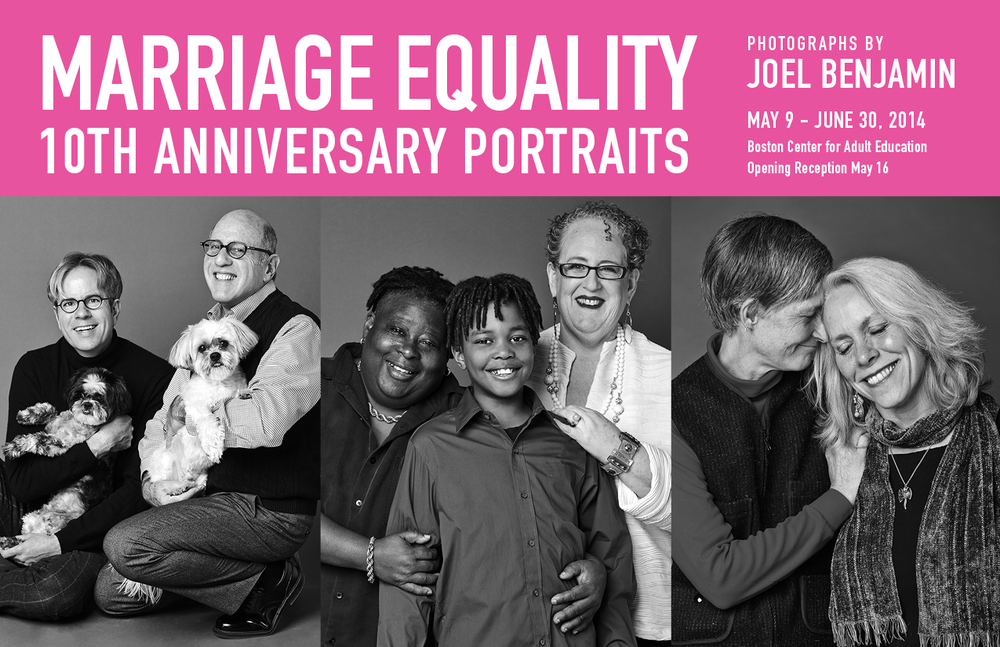 Marriage Equality 10th Anniversary - Joel Benjamin Marketing Piece Art Direction: Ciano Design