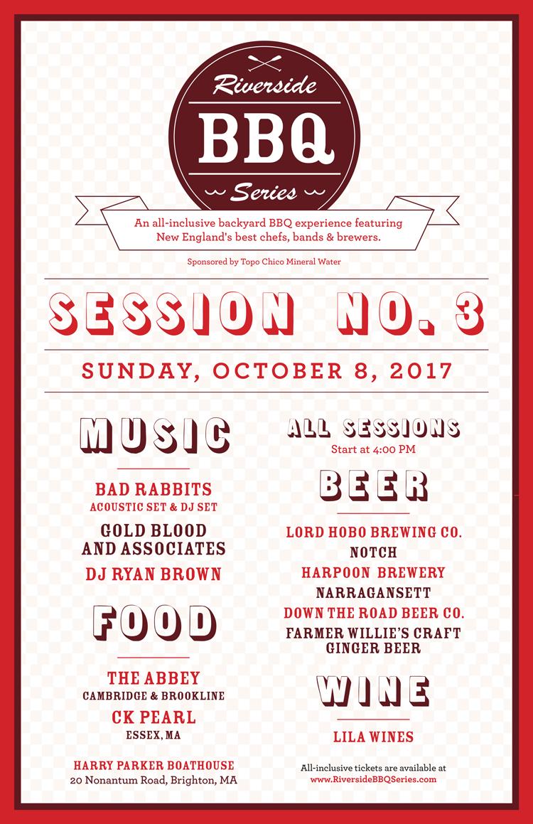 Riverside BBQ Series Poster