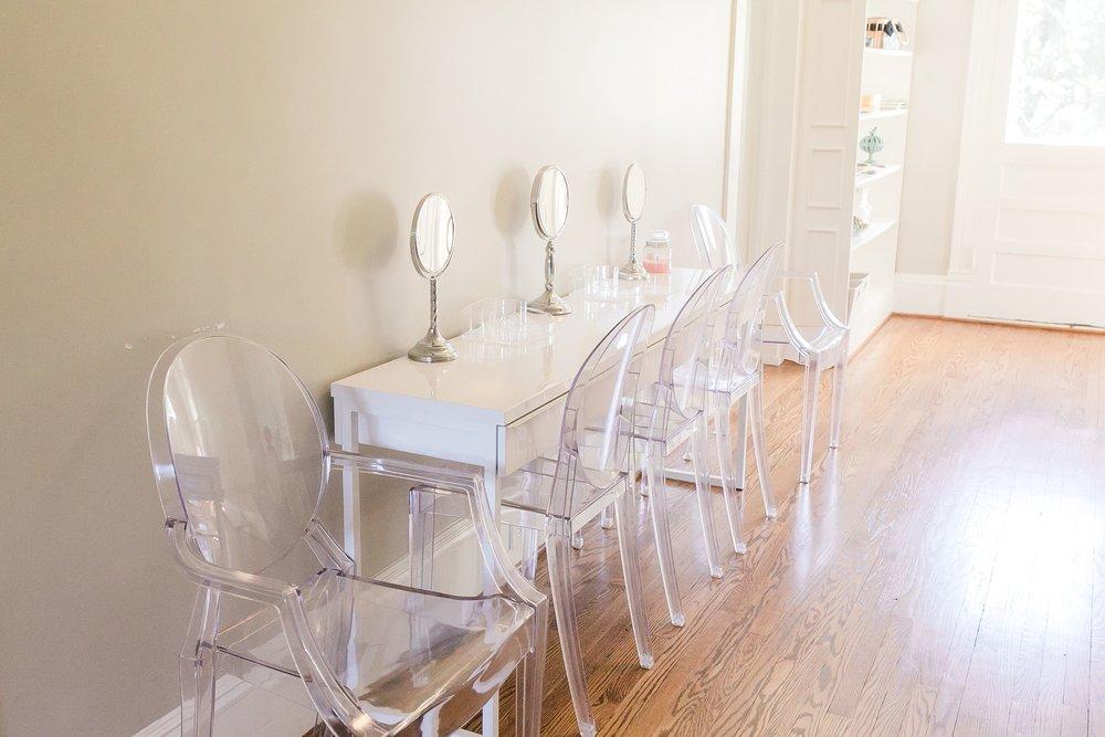 Bridesmaid Desk
