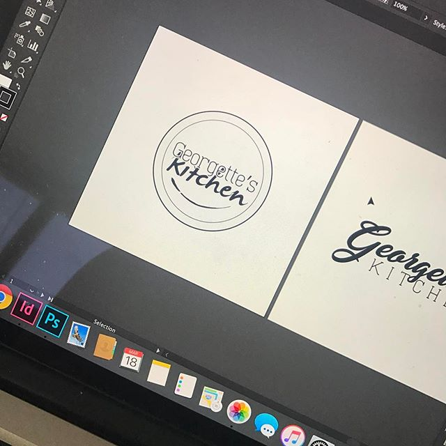 just the beginning of logo play for a new client. can't wait to see where this goes. how are you creating this saturday? ---#projectillyx #illyxcreatives #graphicdesign #branding #ilustrator #typography #food #foodies #create #smallbusiness #artmeetsfood #art #timealchemy #carpetempore