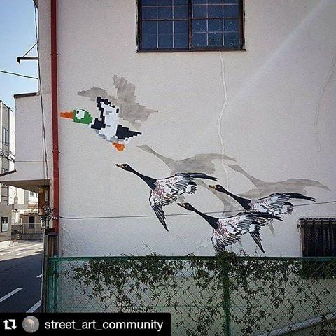 #Repost @street_art_community ・・・ Artist: 👉 @oakoak_street_art 🌏 Japan, Osaka ✅Follow us 👉 @street_art_community ❤ Like 🗯Tag friends •#street_art_community• #illyx #projectillyx #street_art_community #art #creative