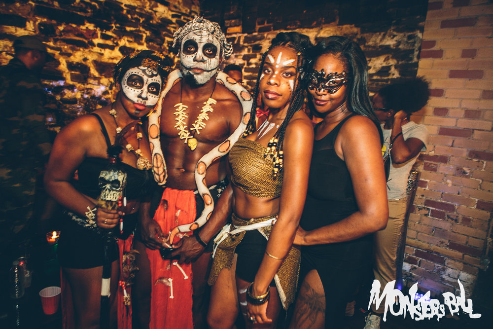 The 10th Annual MONSTERS BALL | Halloween 2016