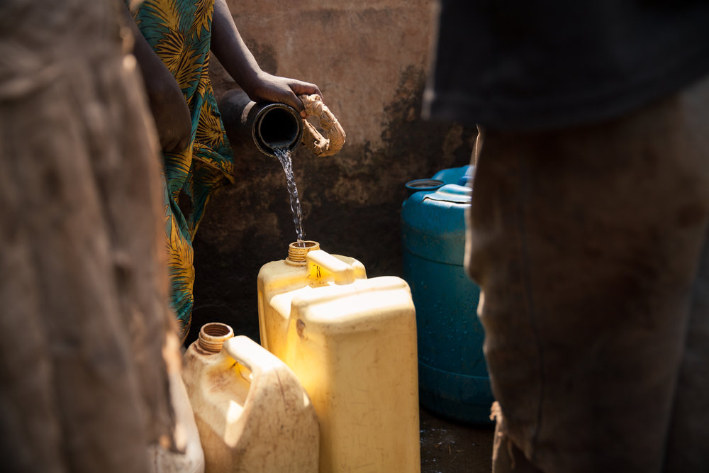 clean water -