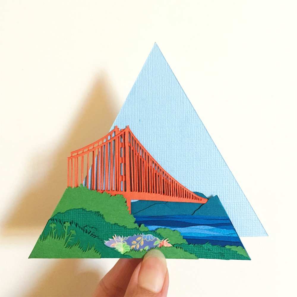 Creation and Design of Paperscapes project - Personal Project