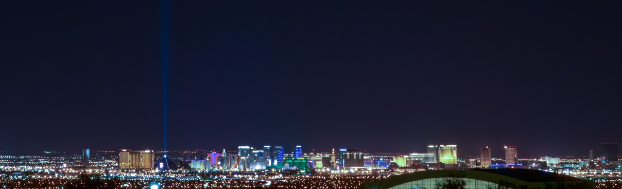 While in Vegas we stayed with our friends Jacquelyn and Seth. This is the view from their home.