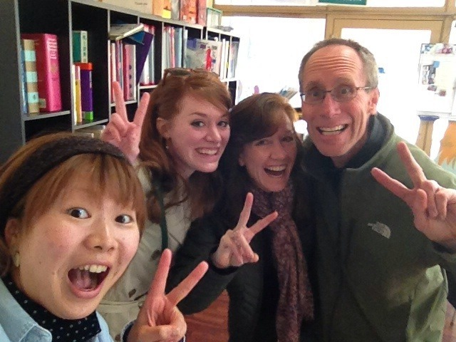 Kanako was so excited to meet my parents! :)