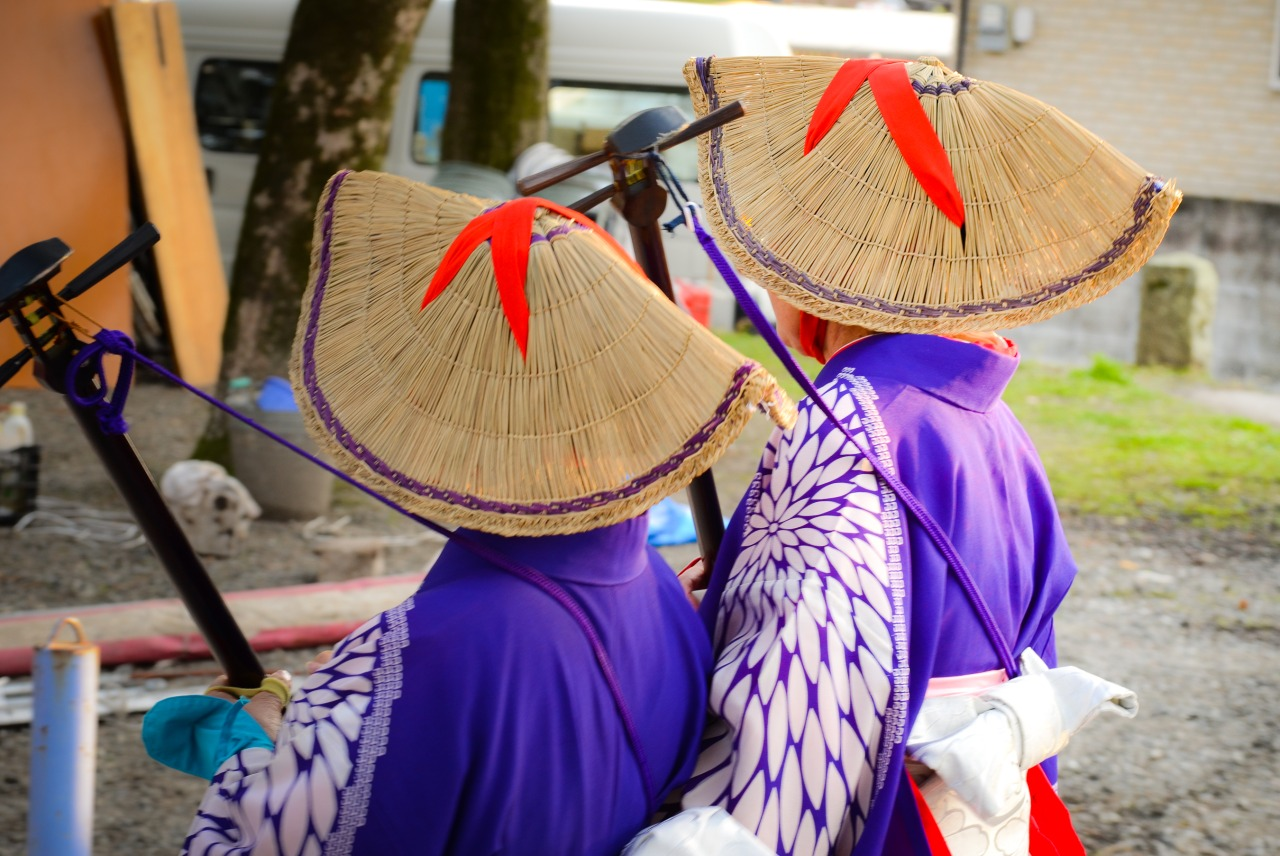 Traditional Kagoshima clan clothing