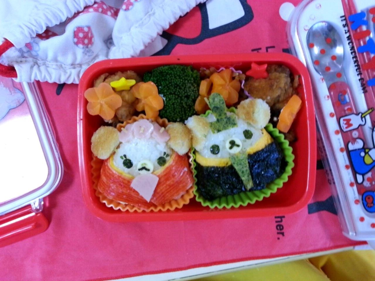 ひな祭り弁当! Hinamatsuri Bento!