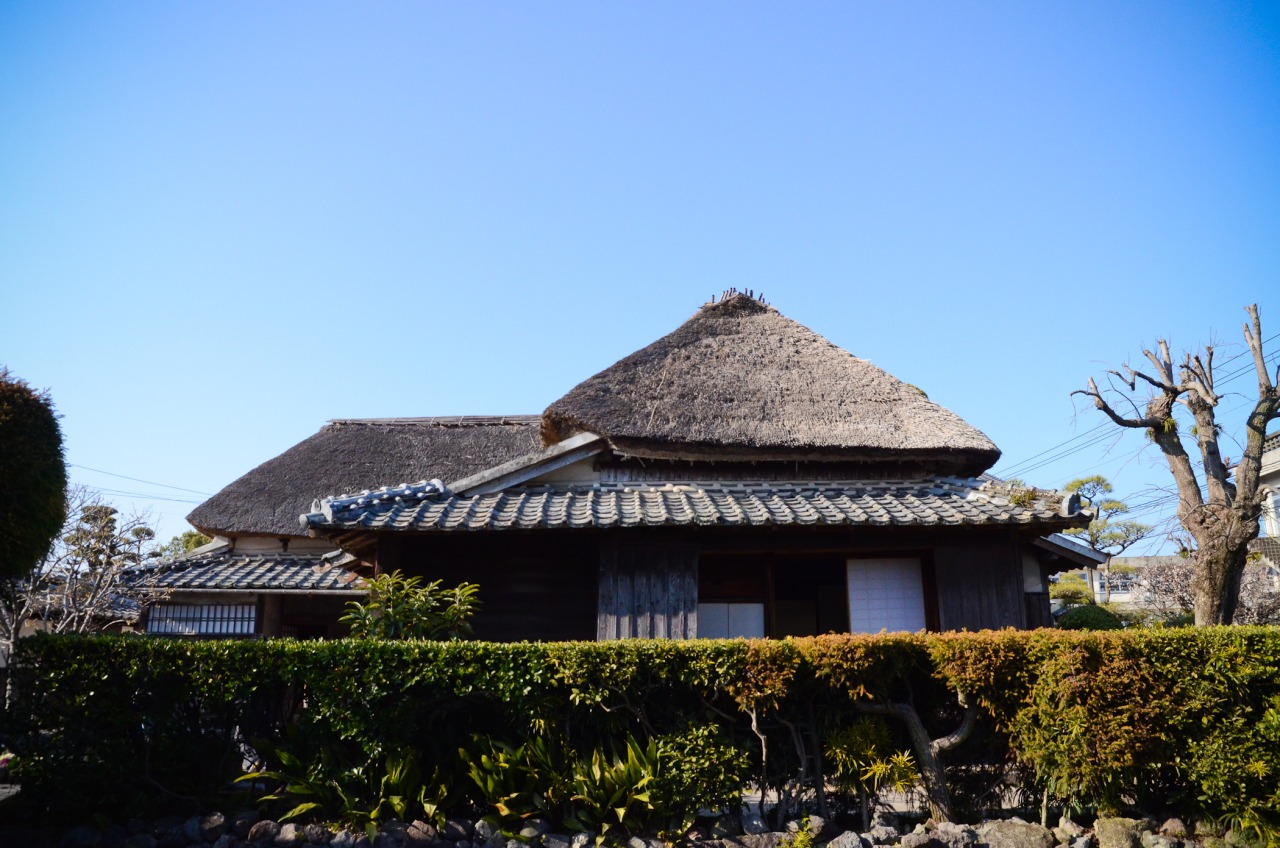 Traditional samurai house.