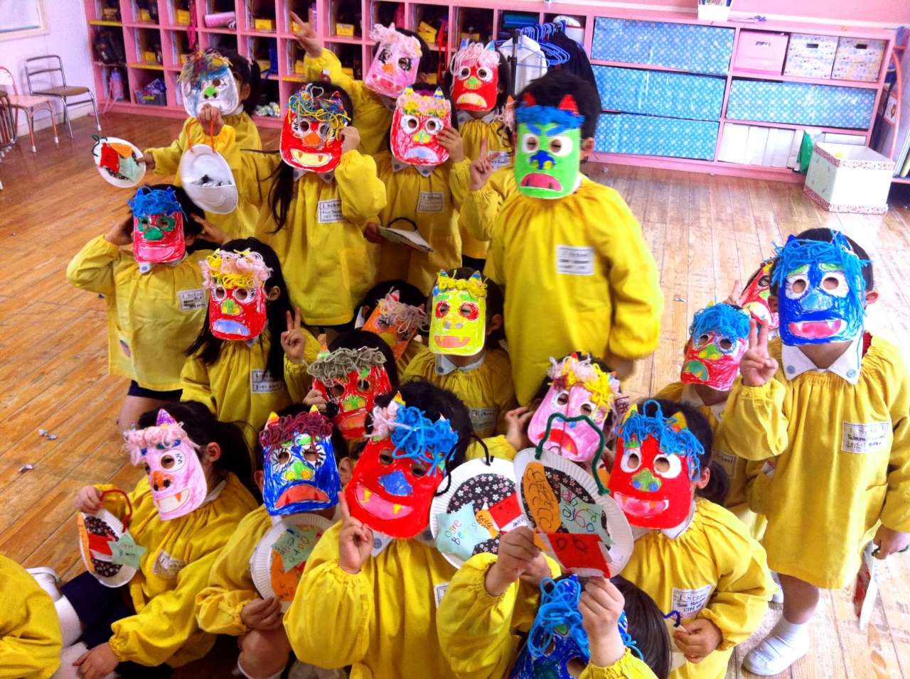 Happy Setsubun from these endearing little ogres!