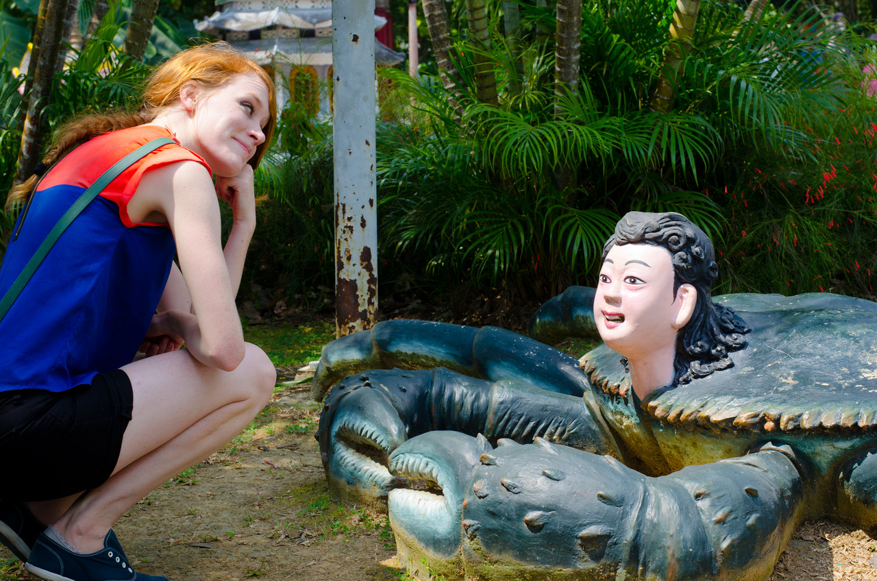 Just when we thought Haw Par Villa couldn't get any weirder.