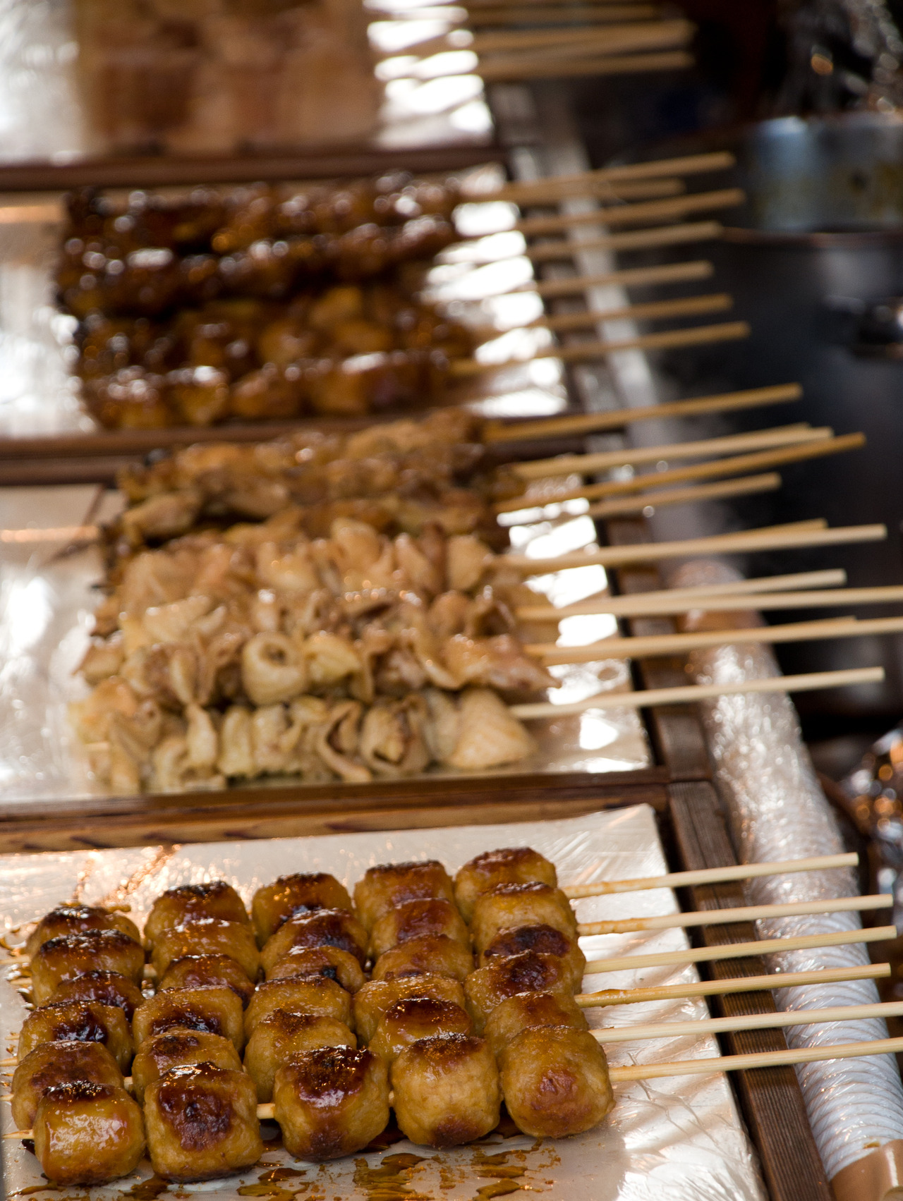 Yakitori Stand. A staple at all festivals.