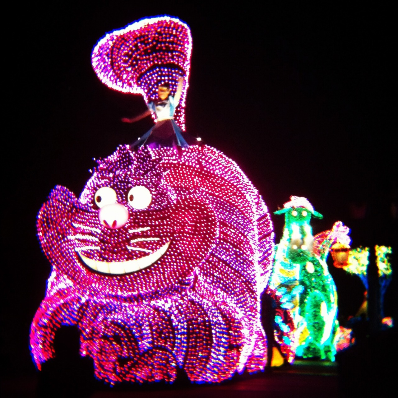 Tyler's First Electric Light Parade