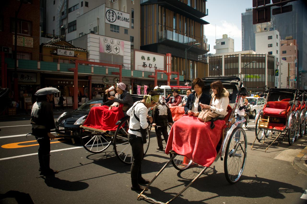 Asakusa rickshaws