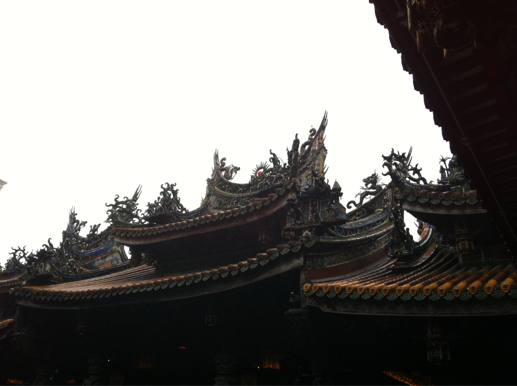 These temples are far more elaborate than Japanese ones.