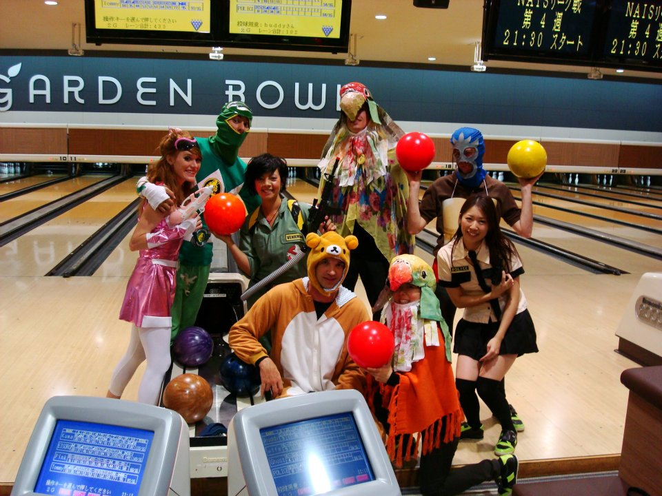 Halloween Bowling Group
