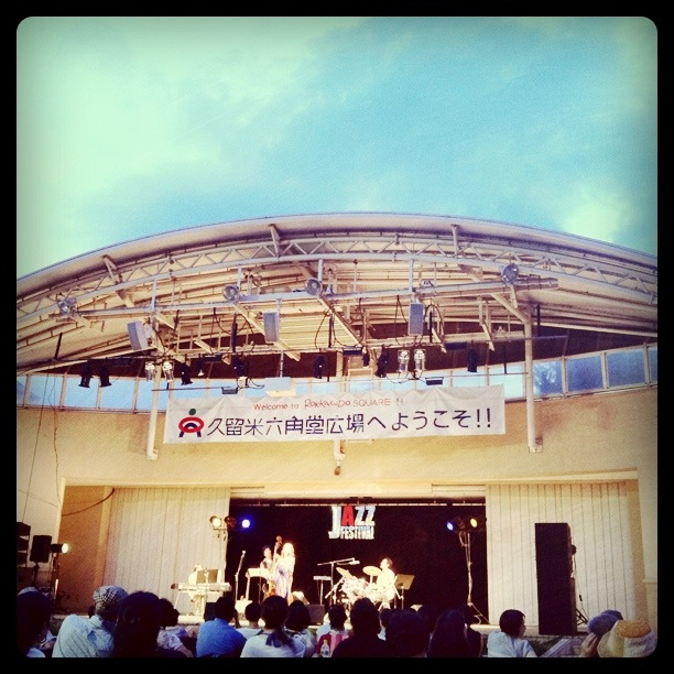 Jazz Festival in Kurume, one of our friends was one of the singers too!