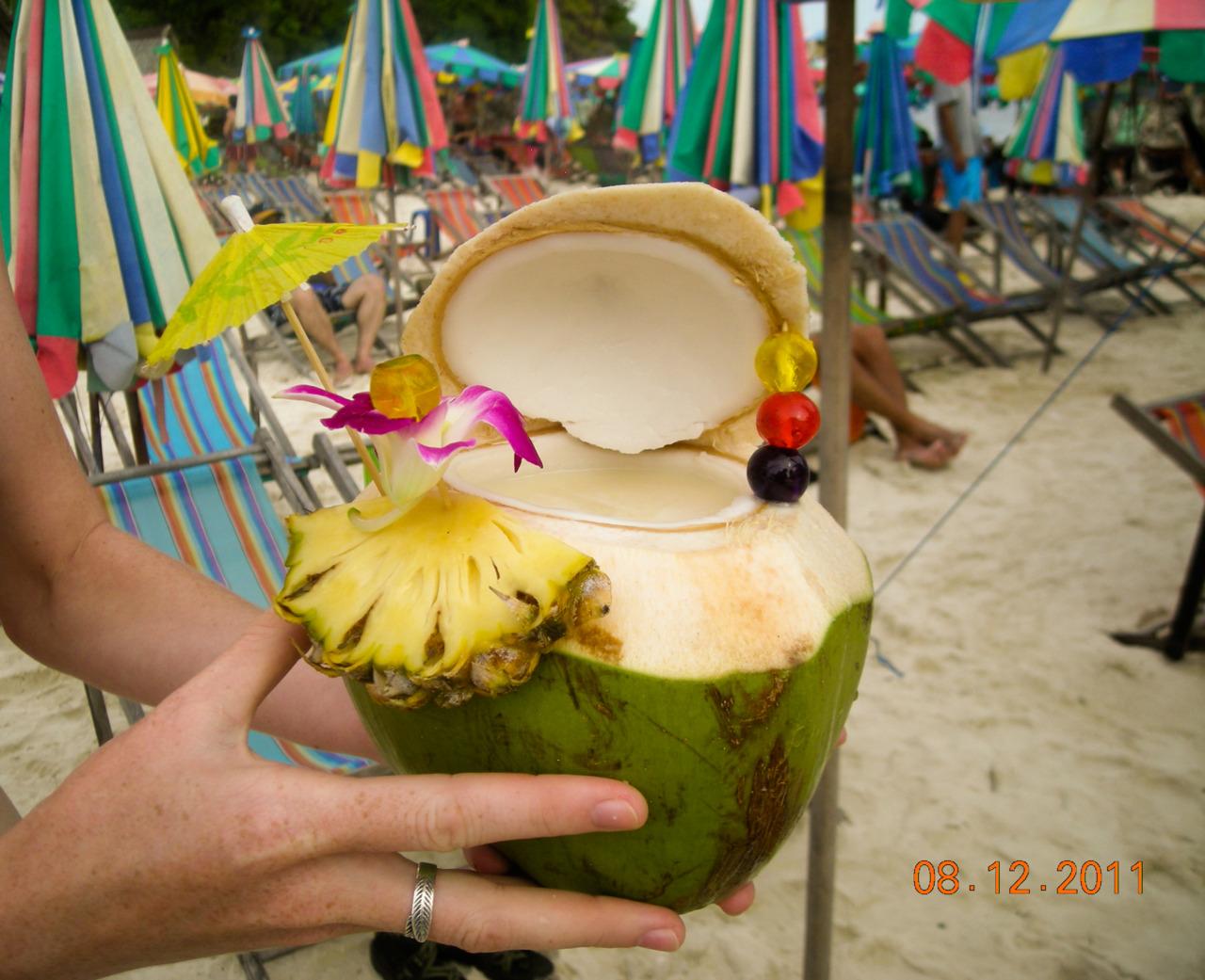 A true Thai Pina Colada.