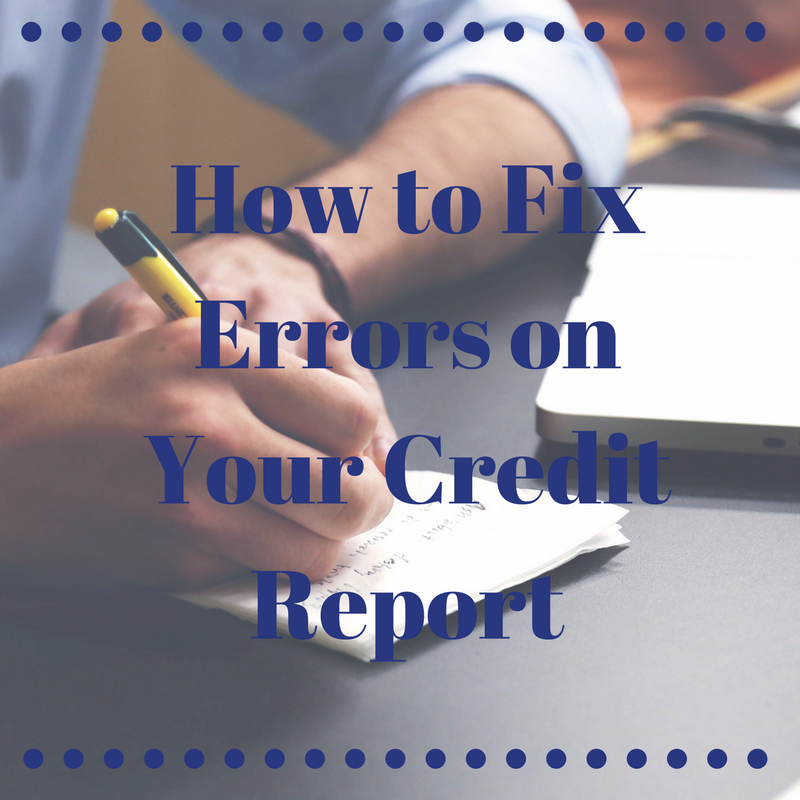HowToFixYourCreditReport