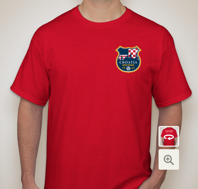 Support the NY Croatia team this Spring! Buy a T-Shirt! — New York ...