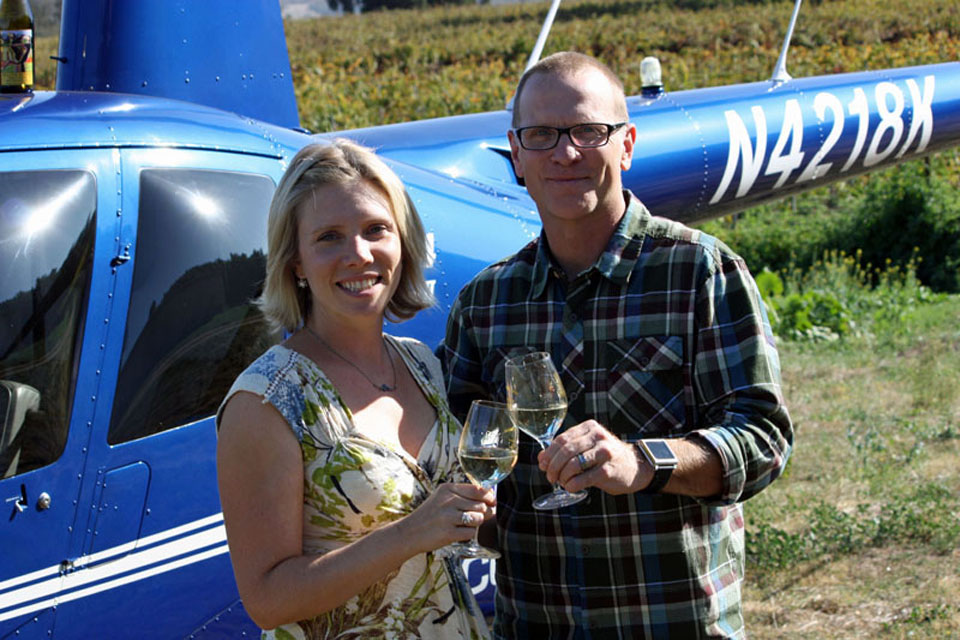 Helicopter Wine Tasting Adventure
