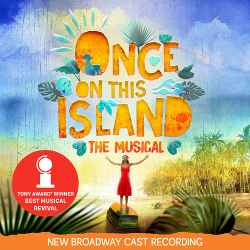 Image result for once on this island revival recording cover