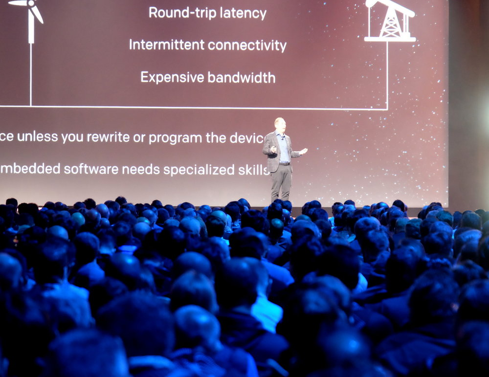 Andy Jassey, AWS CEO delivers keynote address