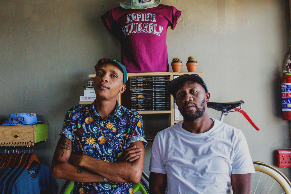 thesis soweto Street culture is gaining ground in sa and the thesis store in soweto has become a hub for creatives wandile zondo (31), who co-owns thesis with galebowe mahlatsi and nkululeko khumalo, tells us about the brand.