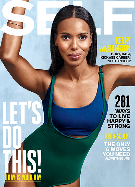 "Kerry Washington, ""Self"" cover"