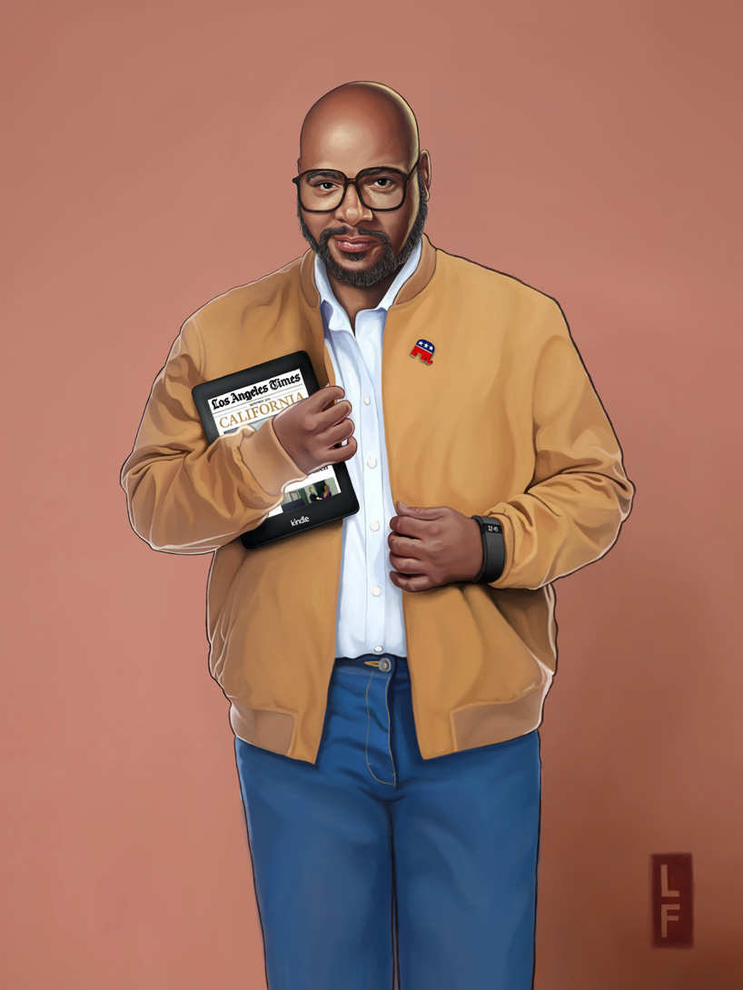 Uncle Phil wears the trendy school like bomber jacket, looking classy as ever