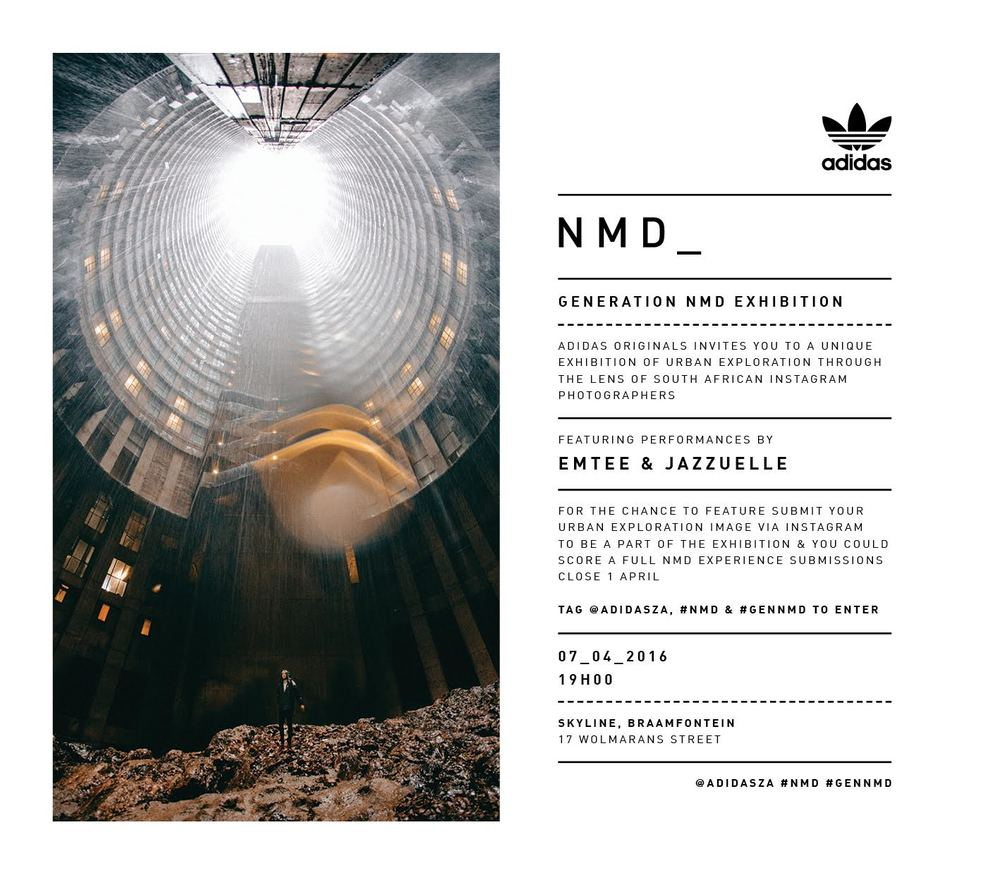 Adidas NMD Exhibition @Skyline Bar